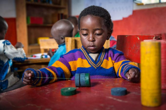 Fostering Early Maths skills at ECCD Centre