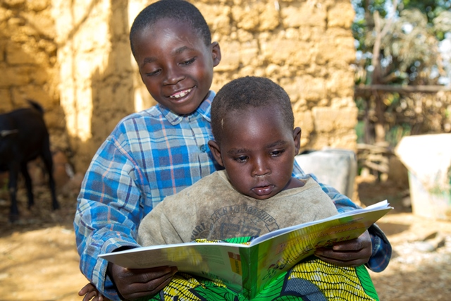 Reading buddy programme to improve literacy by SC and Umuhuza