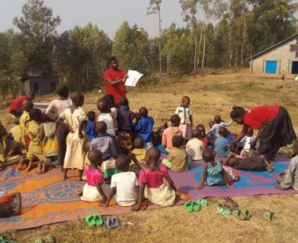 Nearly 280 children participated in first Literacy Umuganda session in Burera District