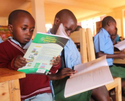 Save the Children brings Library to Burundian Refugee Camp in Rwanda.