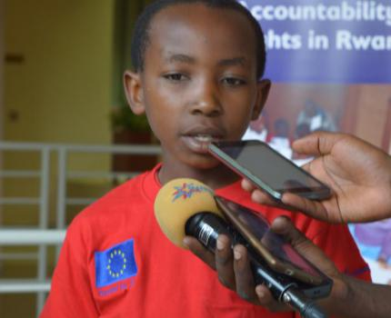 Children in Rwanda are talking about increased investments in children