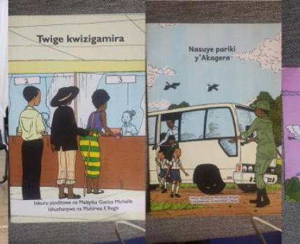 Children writers shine and set high standards for Rwandan authors at National Book Exhibition.
