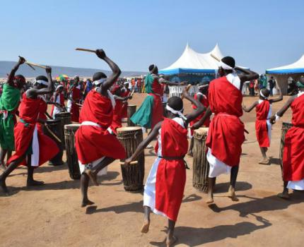 """""""We are people like others,"""" say refugees at World Refugee Day celebration in Mahama Refugee Camp"""