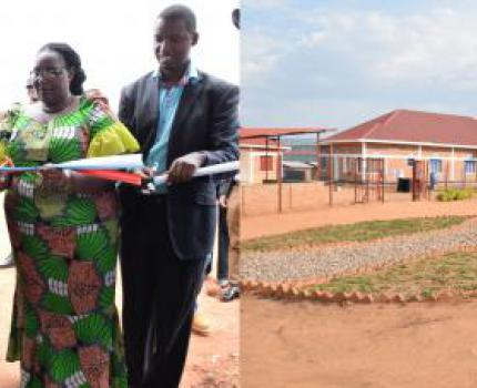 Dreams come true as Burundi refugees in Rwanda get a fully-fledged health center; saving more than just money.